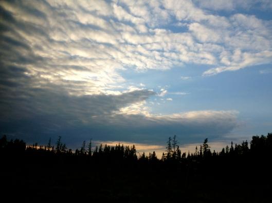 Nightfall in Ontario